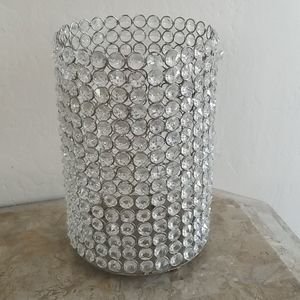 Z Gallerie Extra Large Crystal Candle Holder
